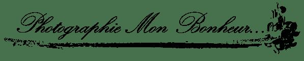 Logo Photographie Mon Bonheur