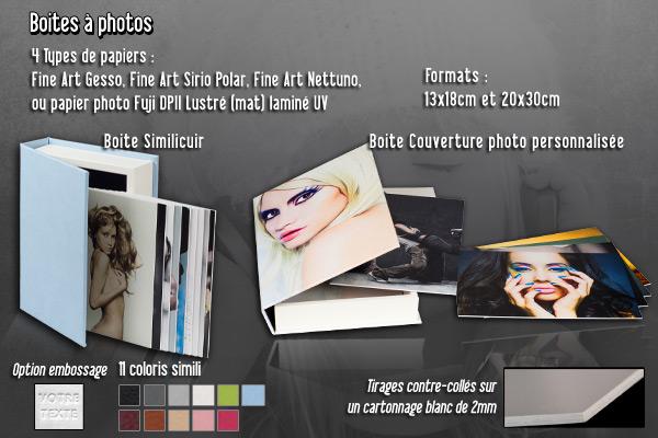 boites à photos, tirages, photos, produits, image boite