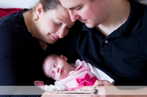 Photographe nouveau-né à Saint-Maur - Séance photo naissance - Portrait bébé Agathe -3